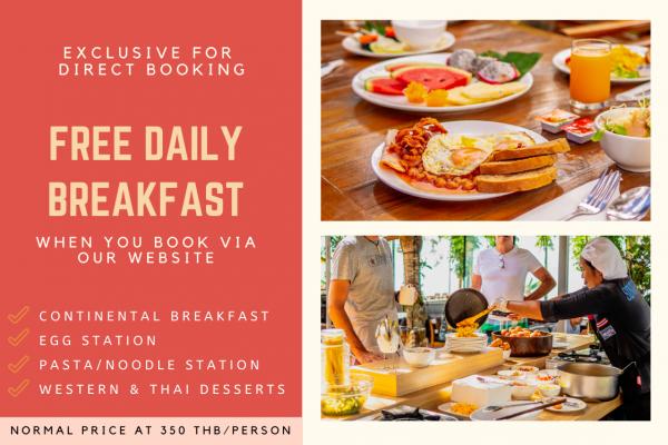 Free Breakfast Promotion